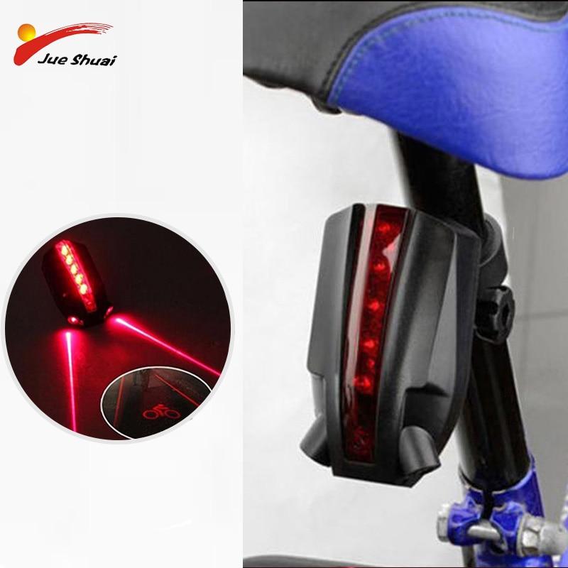 2 5 Feixes de Laser Bicicleta Lanterna Super Brilhante Com Indicadores Led Com Logotipo Bicicleta 4 Piscando Modos de Auto-Off Usb carregamento Para A Bicicleta