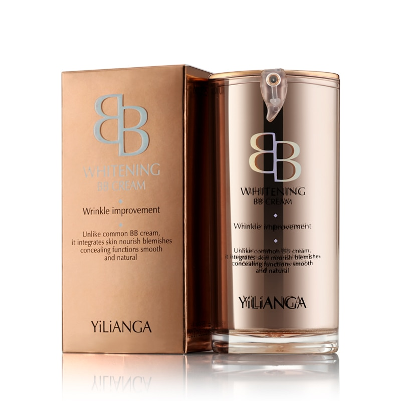 Yilianga face make up cream bb cream  makeup foundation concealer cream  makeup natural perfect cover bb cc cream