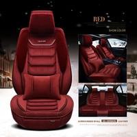 2018Winter Plush Car Seat Cover Cushion For Citroen ELYSEE C3-XR C4L C5 C6 car accessories car-styling