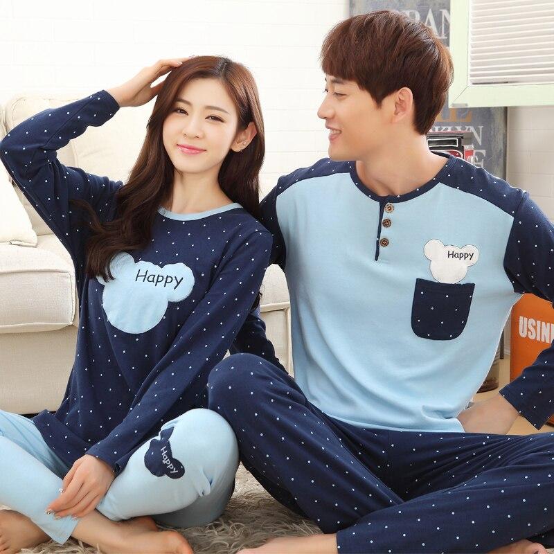 Pijamas de algodão masculinos, pijamas mangas longas, listradas, desenhos animados, casuais, plus size 3xl conjunto de pijama,