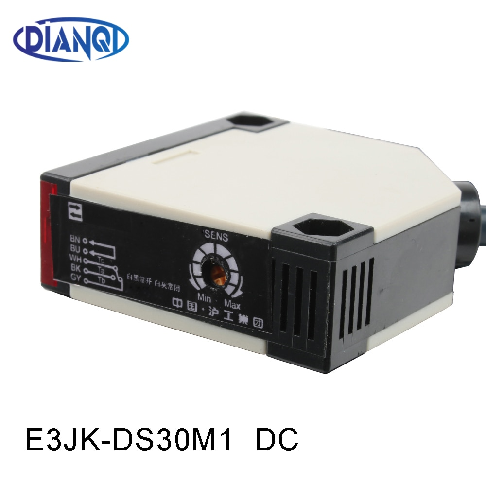 Photoelectric switch E3JK-DS30M1 12-24v DC infrared sensor switch transducer Diffuse reflection