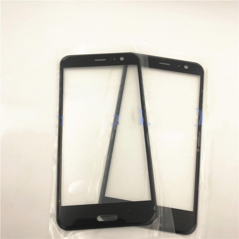 "Original 5,5 ""para HTC U11 U 11 U-3w W-1w frente pantalla táctil de cristal LCD Panel exterior de la lente + gratis de entrega"