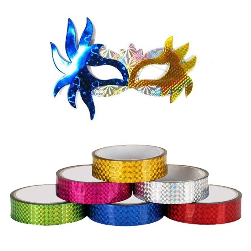 Cintas holográficas para decoración de Gimnasia Rítmica RG prismática, cintas con purpurina...