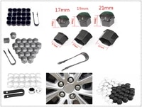 17 19 21mm car accessories wheel cover screw protection nut dustproof for renault eolab twizy twin z twin run symbol