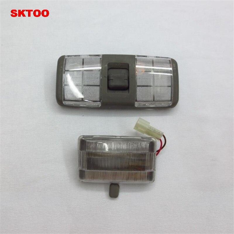 SKTOO Car Interior Roof Dome Lamp Reading Light MB774928 For Mitsubishi Pajero Shogun Montero V31 V32 V33 V43 1990-2004