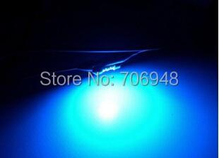 50 Uds 3W cian Led emisor de luz 480nm-490nm 3,2-3,8 V 700mA en 20mm para decoración de Casa/fiesta/Arquitectura