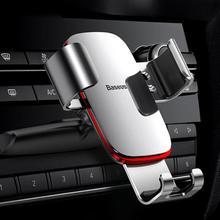 Support de téléphone de voiture Baseus 360 Rotation support dagrafe de téléphone portable support de support CD fente support dagrafe pour iPhone Samsung