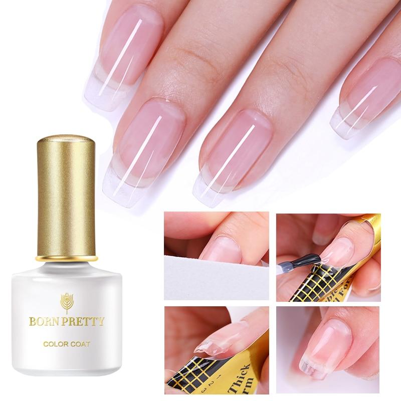 BORN PRETTY Quick Extension Building Nail Gel DIY UV Gel With Nail Fiberglass Nail Art Accessories Tool Nail Gel Set
