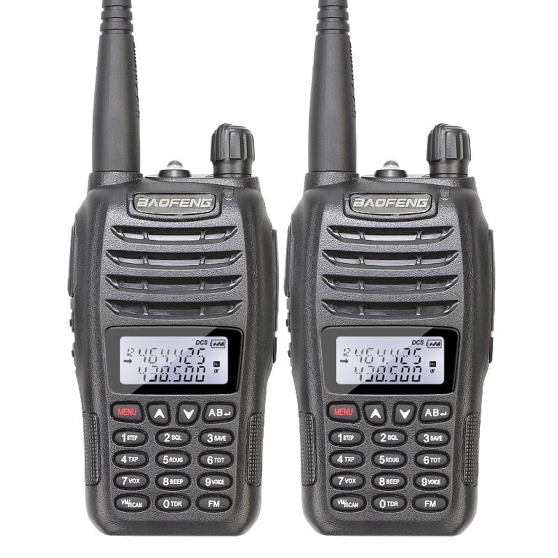 2 unids/lote de doble banda 136-174/400-480 Original Baofeng UV-B6 intercomunicador Radio de dos vías
