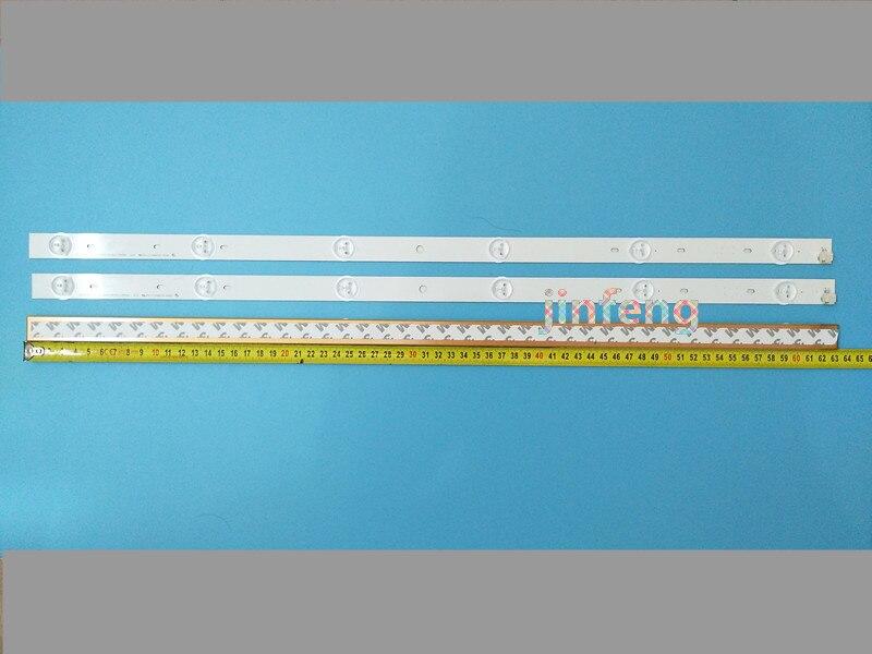 10 uds/6 lámparas, 32 pulgadas, 63 cm, TV LCD, lente de retroiluminación, lámpara LED, Toshiba, Changhong, Hisense, TCL, generalmente 32 pulgadas