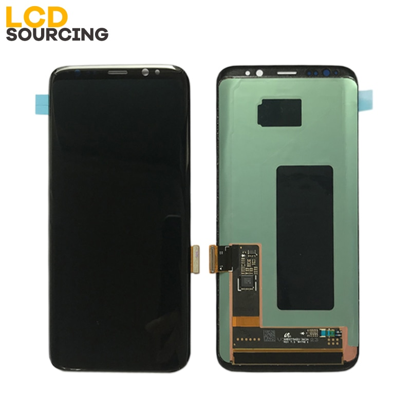 AMOLED Red Burn-Shadow for Samsung Galaxy S8 LCD G950 G950F S8 Plus Display G955 G955F Touch Screen Digitizer Assembly Replace enlarge