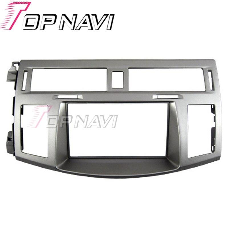 Topnavi Qualidade Fascia Rádio Do Carro 2 DIN para Toyota Avalon 2006 AutoStereo Interface CD Traço Guarnição Kit de Instalação