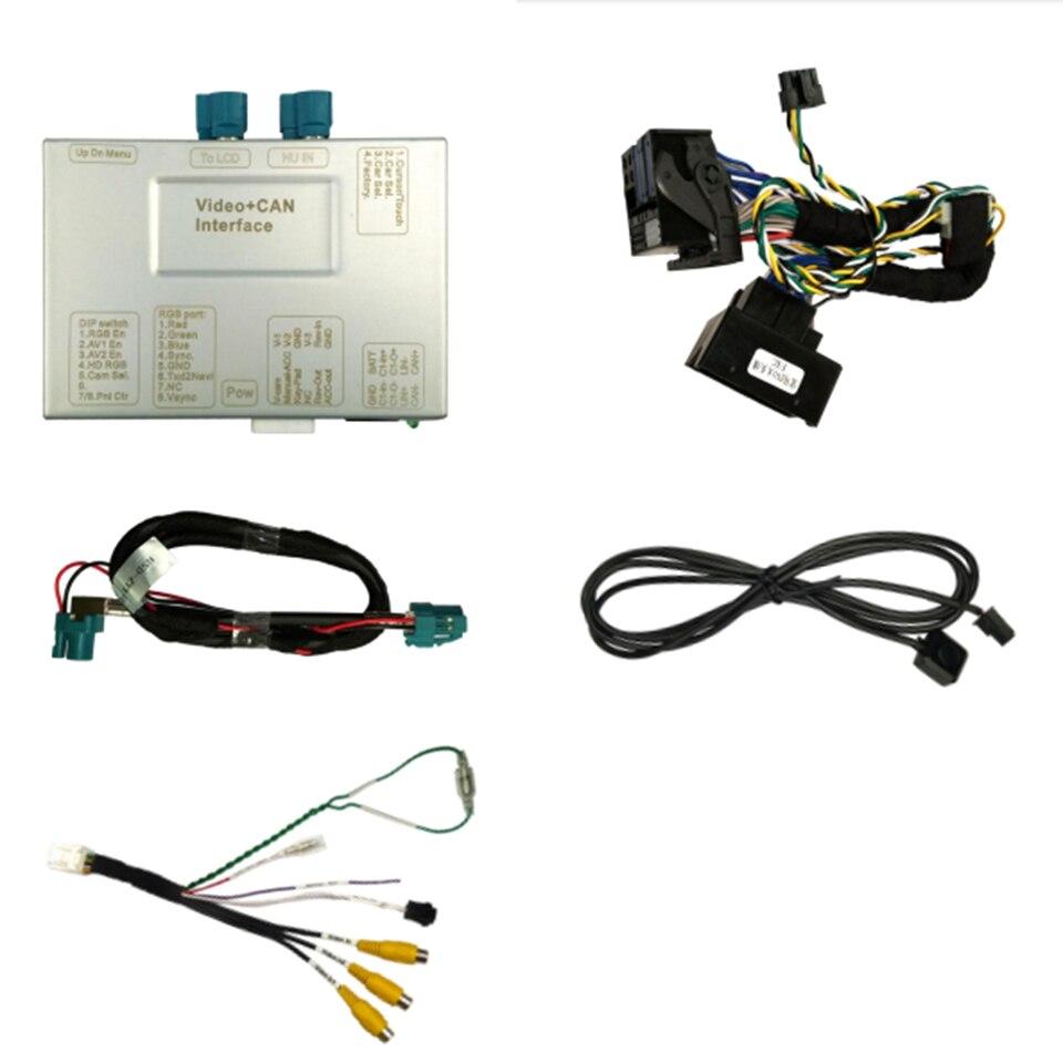 Hohe-Definition Telefon Bild Mirroring DVR Video-Inserter für BMW F06 F12 F13 Touch/nicht Touch Original monitor