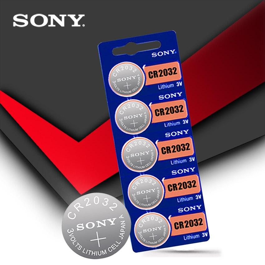 Литиевая батарея sony CR2032 5шт./набор