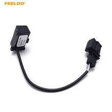 FEELDO 5Pcs Car Auto RCD510 RNS510 RNS315 Bluetooth Microphone Kit Micro Phone Cable For VW Golf Passat #AM1356