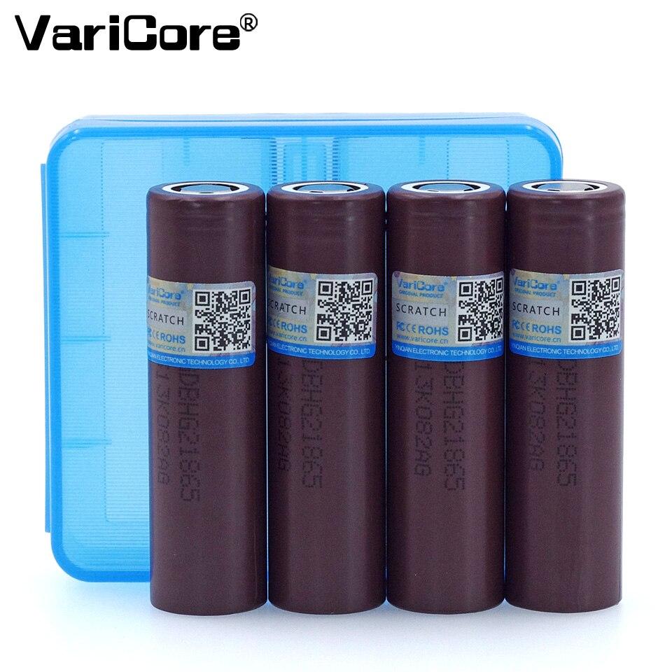 Batería Original VariCore HG2 18650 3000mAh 18650HG2 3,6 V descarga 20A, batería de alimentación electrónica dedicada + caja 18650