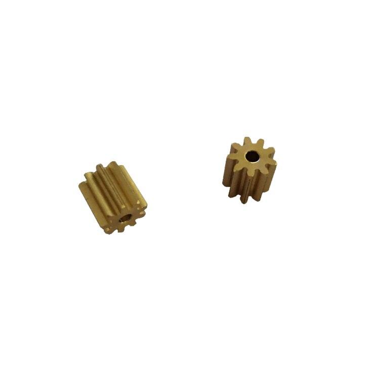 5 uds módulo 0,6 9-de motorreductor de metal de FC280 engranaje del motor
