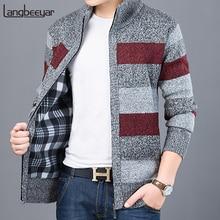 Мужской свитер, плотный, теплый, осенний, корейский стиль, 2020