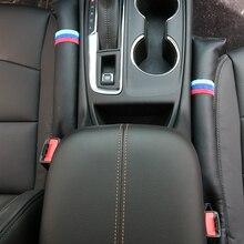 2PCS Auto Sitz Lücke Füllstoff Weichen Pad Polsterung Spacer Für BMW X1 X5 1 E90 E91 E92 E93 E34 für BMW E60 E61 E82 E81 E87 E88 E84 E53 E70