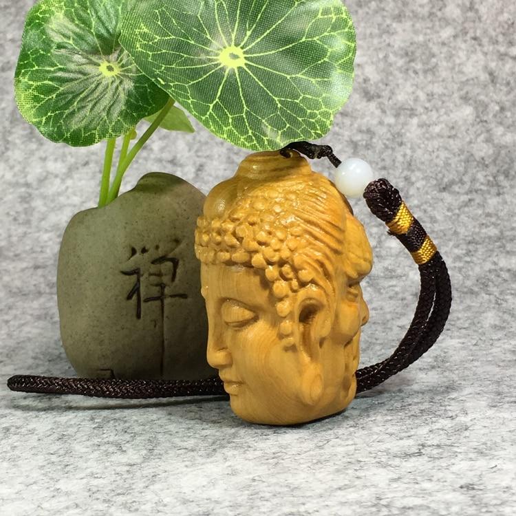 Bela mão esculpida em madeira Buda Maitreya Feliz Rindo Buda estatueta, estatuetas de Buda e warcraft, Shakyamuni Escultura