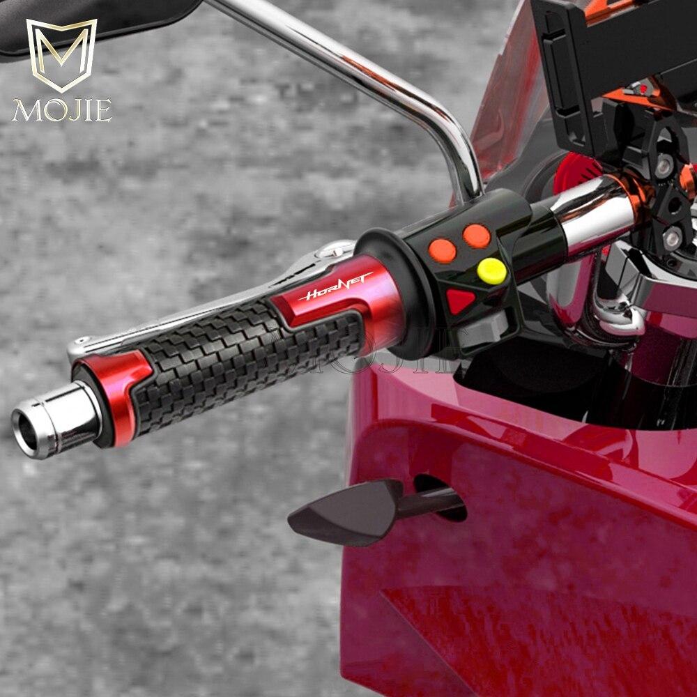 "7/8"" 22MM Motorcycle Accessories Handlebar Hand Grips Handle Motorbike For Honda CB600 CB900F CB 600 900F HORNET 250"