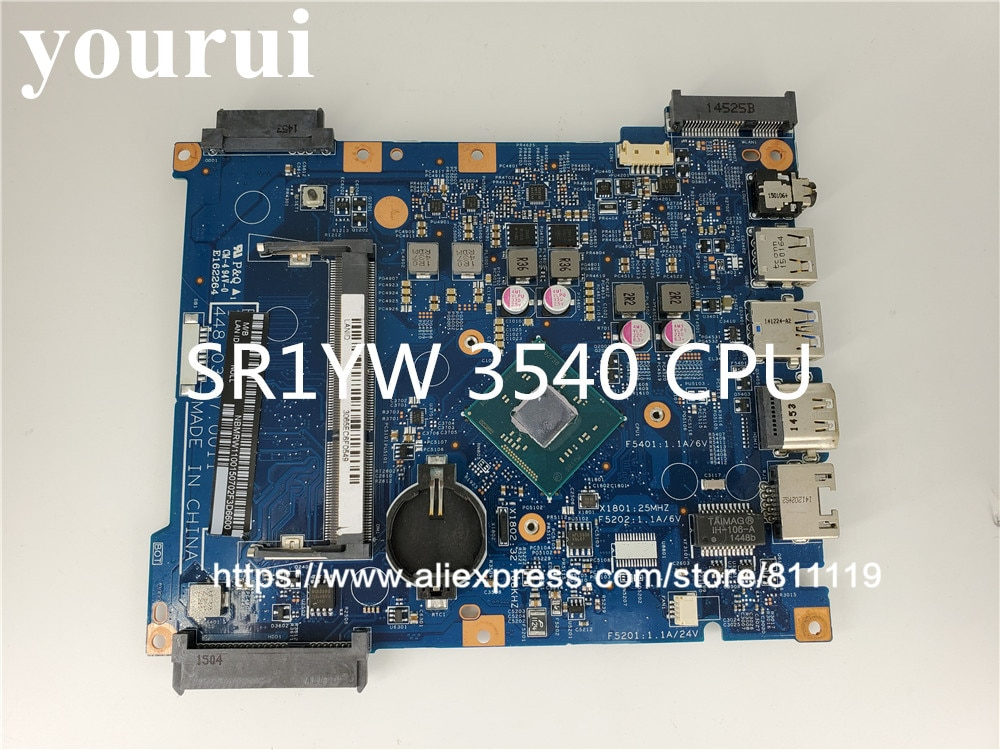 Placa base para ordenador portátil Acer ES1-512 placa base W/N3540 CPU NB. MRW11.001 NBMRW11001 14222-1 448.03708.001 DDR3L