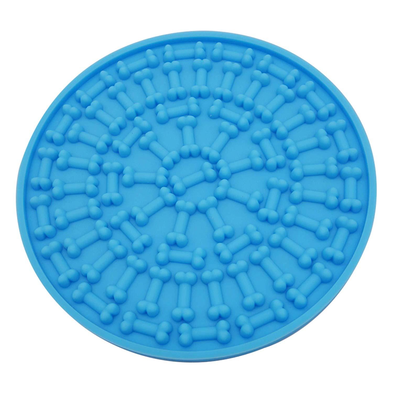 TFBC-tampon de nettoyage pour chiens   Ami de bain pour animaux de compagnie, dispositif de Distraction pour le lavage des chiens, aide à toilettage des chiens, Force daspiration Super forte