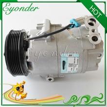 A/C Air Conditioning Compressor Cooling Pump PV6 for Chevrolet Celta Corsa Classic Suzuki Fun 93381741 93310443 CS10060