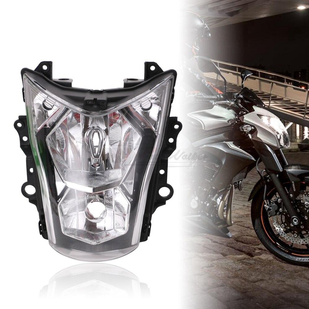 For Kawasaki ER6N Motorcycle Headlight Assembly Headlamp Light House Fit2012-2016 13 14 15 Green Black