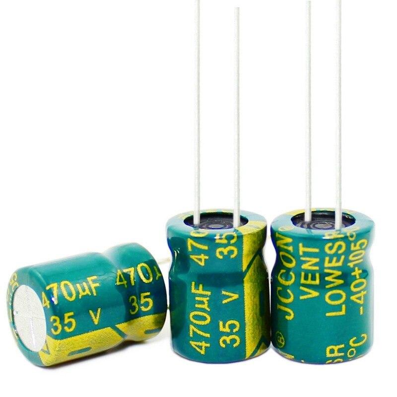 New original 6.8UF 10UF 15UF 47UF 220UF 470UF 680UF 1000UF 1500UF 400V 100V 50V 35V 25V 16V 10*13MM Electrolytic Capacitors