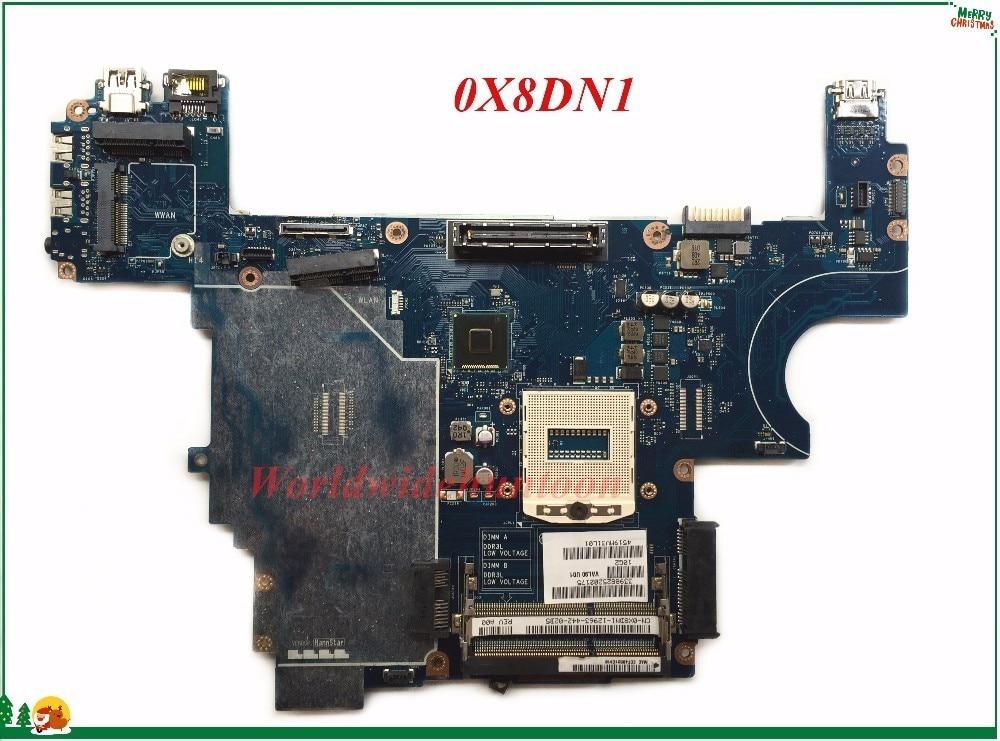 CN-0X8DN1 MB X8DN1 0X8DN1 de alta calidad para Dell Latitude E6440 placa base para ordenador portátil VAL90 LA-9931P DDR3L integrado 100% probado