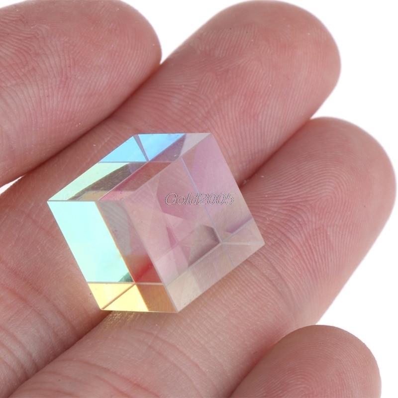 Prisma láser haz combinado cubo prisma para 405nm ~ 450nm diodo láser azul 5W para instrumentos ópticos prisma espejo G07 Drop ship