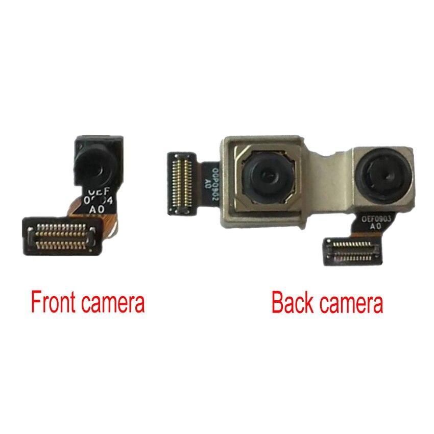Original probado bien mi A2 Lite mi A2 Lite parte trasera principal de la cámara trasera grande Flex Cable para Xiaomi Redmi 6 Pro cámara frontal pequeña
