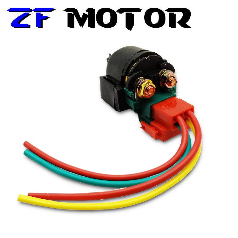 Motorcycle Electrical Parts Starter Solenoid Relay For HONDA CB-1 CB400SF CB400 CB125 CRF150 CRF230 NX250 VTR250 CMX450 CBX 1981