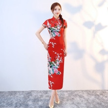 8 couleurs Costumes Traditionnels Chinois Femmes Serré robe moulante Cheongsam costume tang Imprimer robe fente kimono sexy