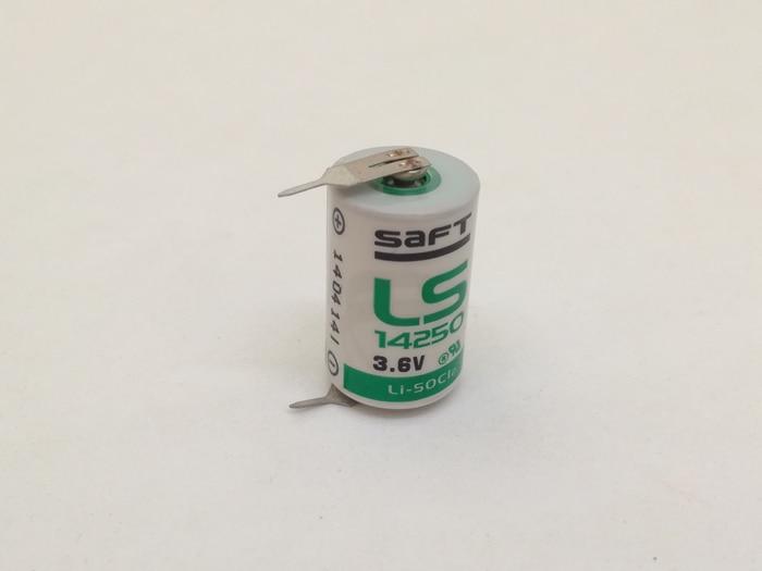 Marke Neue Original SAFT LS14250 LS 14250 1/2 AA 1/2AA 3,6 V 1250mAh PLC Batterie Lithium-Batterien mit Pins