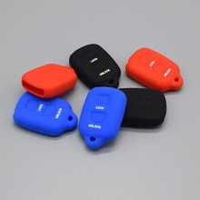 silicone rubber car key cover case set protected for toyota Corolla Avalon Camry 2 button key remote