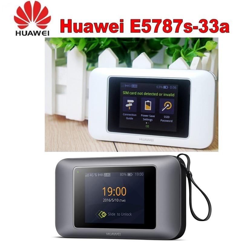 Lote de 100 Uds. Huawei E5787 Cat6 WiFi Hotspot 3000mAh batería LTE Categoría 6 móvil 4G