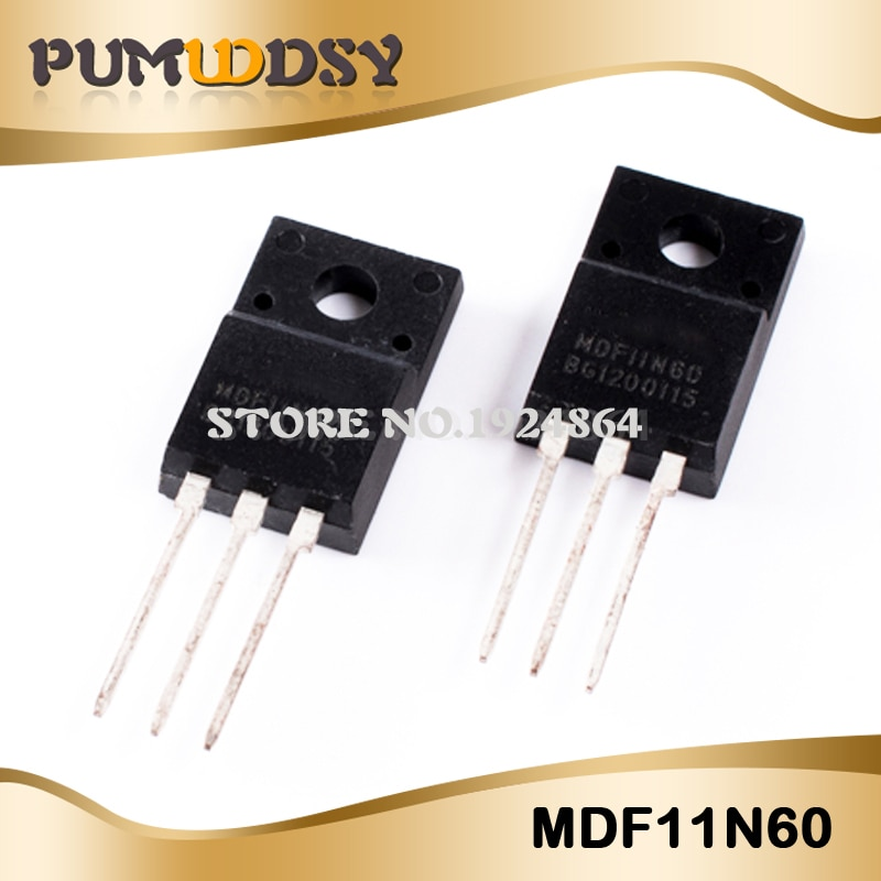 10 PÇS/LOTE MDF11N60 11N60 TO-220F 600V 11A novo IC originais