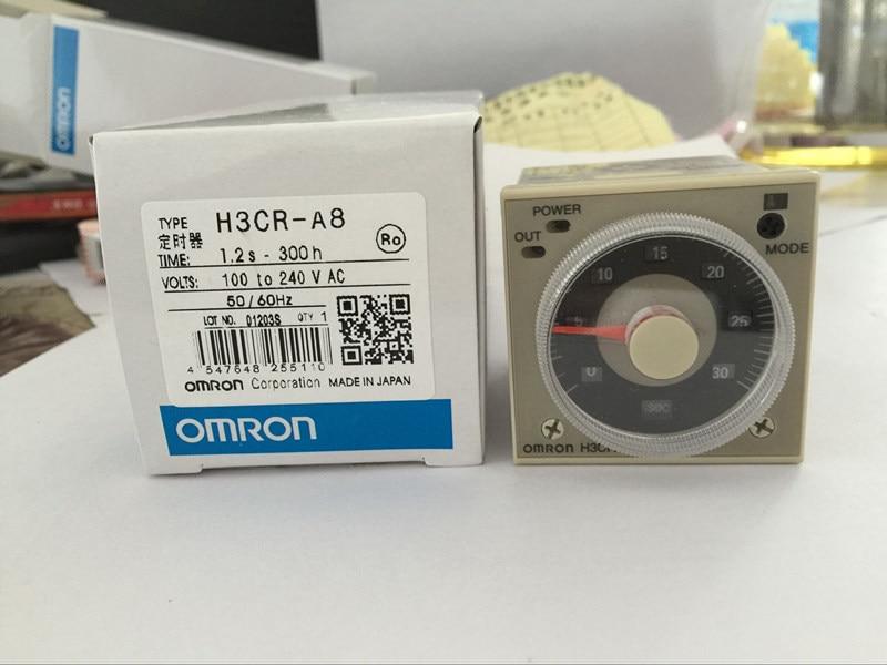 H3CR-A8 8 pin time relay / timer 100-240VAC universal