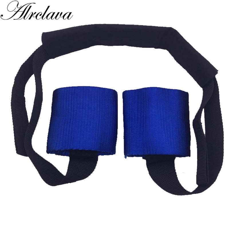 Color azul y rojo de cintas para manillar del manillar atar molestia libre de manera de asegurar motocicletas