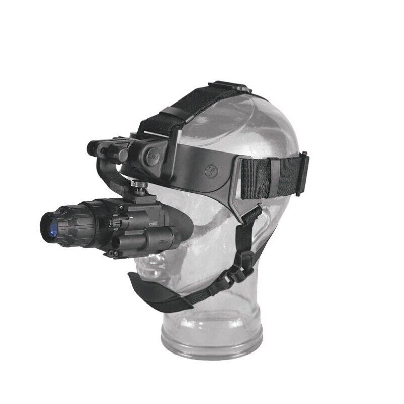 Original Pulsar 74099 visión nocturna scope Challenger GS 1X20 visión nocturna monocular y montaje de cabeza para caza/camping