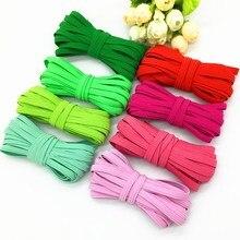 6mm Elastic Ribbon High-Elastic Elastic Band Rubber Band Elastic Line DIY Lace Trim Sewing Waist Band Garment Accessories 4meter