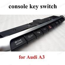 8V0 925 301 BM clé de console   Aide au stationnement, double bouton de commutation pour a-udi A3