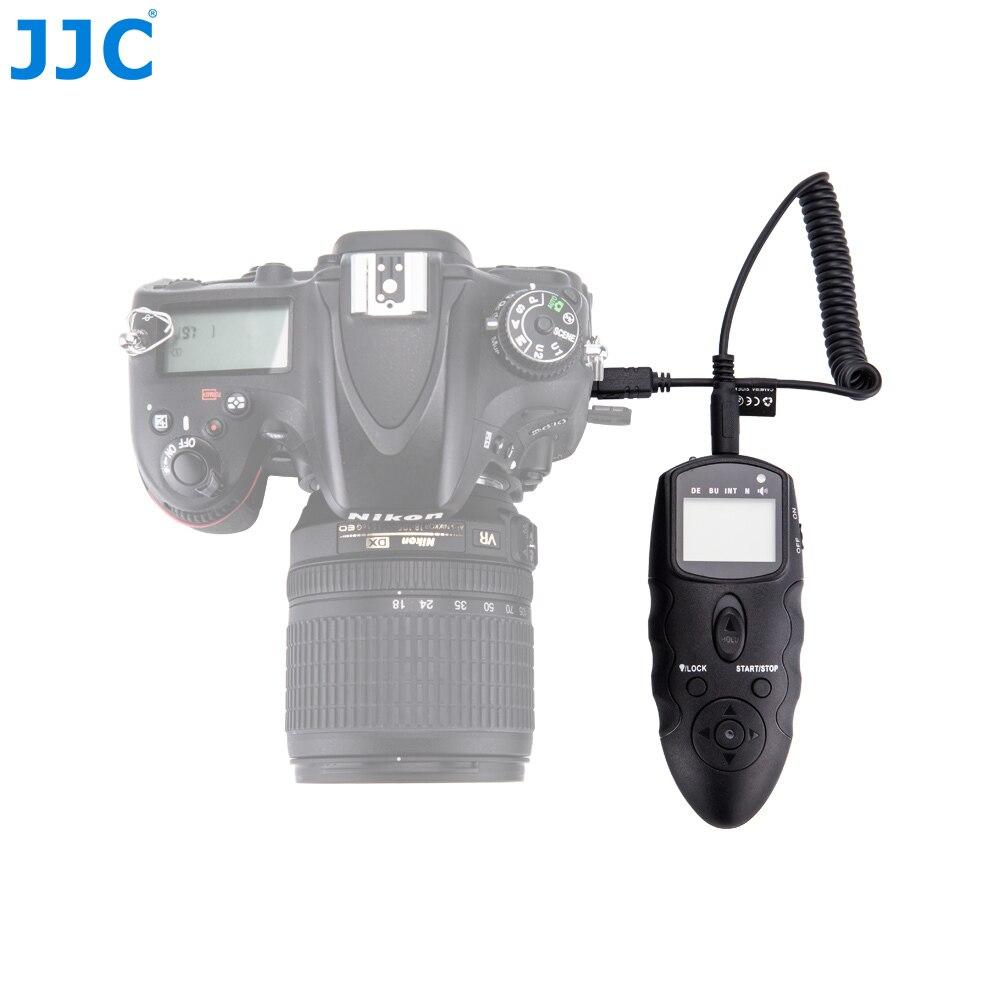 JJC interfaz remota múltiple y receptor IR DSLR Cámara temporizador infrarrojo IR remoto para NIKON D5600/D7200/D5500/D750/D5200/D810