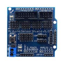 Glyduino сенсорный Щит V5.0 Плата расширения датчика для Arduino электронные строительные блоки деталей робота