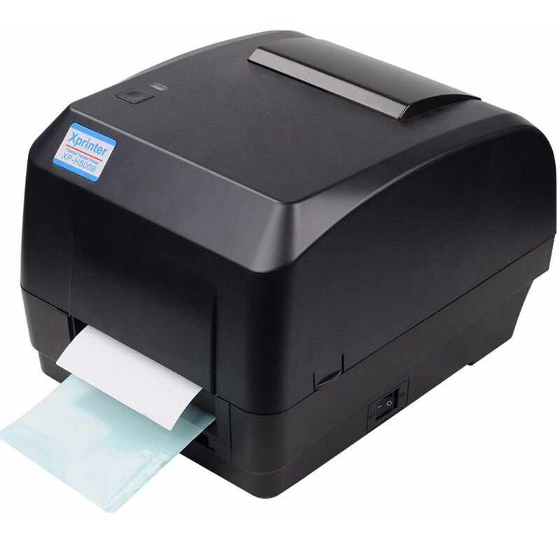 Impresora Xprinter impresora de transferencia térmica impresora de código de barras 108mm ancho de impresión interfaz USB para joyería logística POS venta al por menor