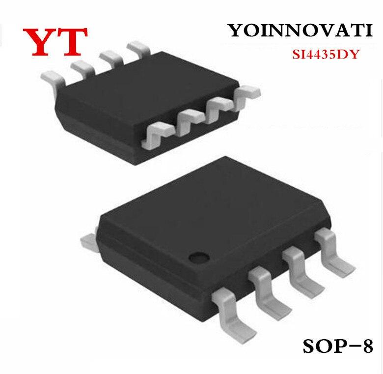 50PCS SI4435DY SOP-8 SI4435 4435 30V P-Kanal Power MOSFET Neue und Original