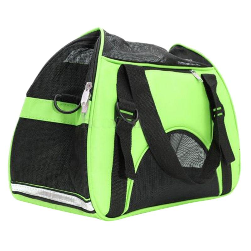 Практичный бутик для домашних животных, собак, кошек, щенков, переноска для путешествий, тканевый ящик, сумка-тоут, сумка для питомника, зеленый