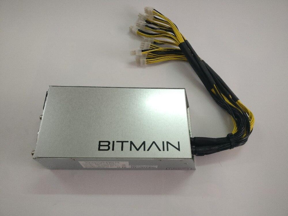 Б/у источник питания Bitmain APW3 + + 1600 Вт для ANTMINER S9 S9i S9j L3 + D3 T9 + E3 Z9 Mini DR3 Innosilicon A9 A10